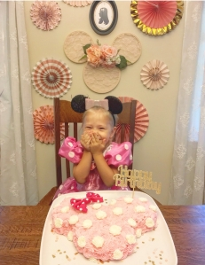 Elegant Minnie Mouse Birthday Decoration