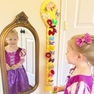Rapunzel Bow Holder