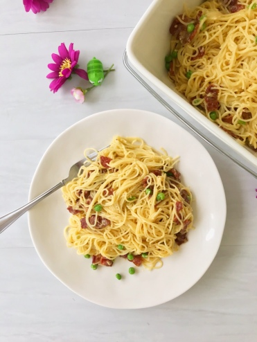 Angel Hair Carbonara