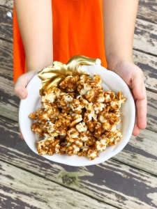 Pumpkin Spice Caramel Corn - A Magical Kingdom called Home