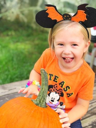 Carving Pumpkins - A Magical Kingdom called Home