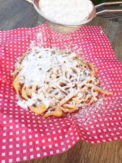 County Fair Funnel Cakes - So Dear to my Heart Movie Night
