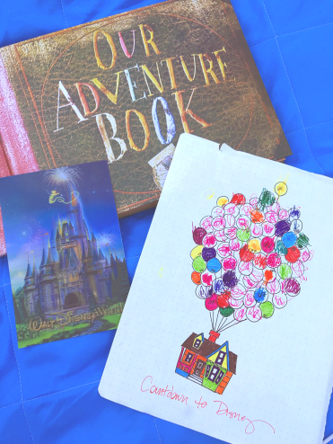 Our Adventure Book - Disney Countdown - Up Movie Night - A Magical Kingdom called Home