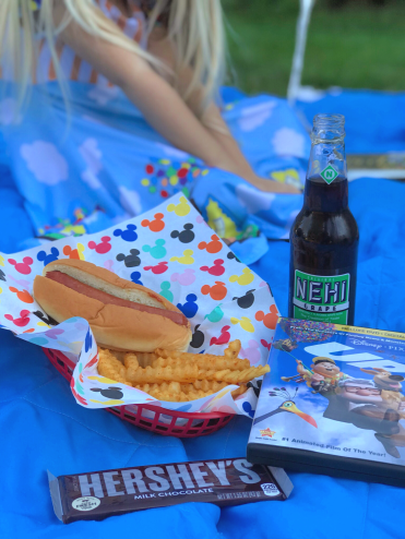 Up Movie Night dinner idea - A Magical Kingdom called Home
