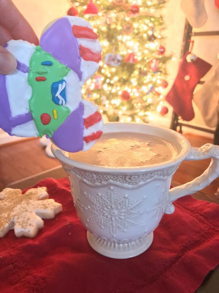 Santa's favorite Hot Chocolate - The Santa Clause Movie Night - A Magical Kingdom called Home