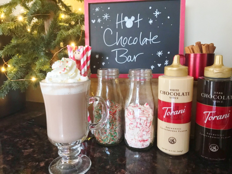 Hot Chocolate Bar - The Santa Clause Movie Night - A Magical Kingdom called Home