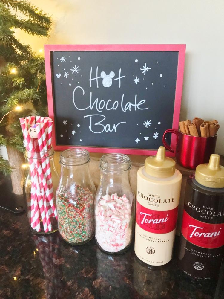 Hot Chocolate Bar - The Santa Clause Movie Night - A Magical Kingdom called Home