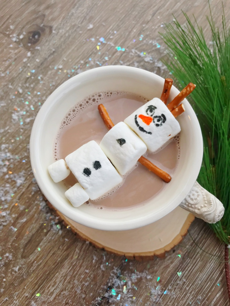 Olaf Hot Chocolate - Disney Eats - Frozen Movie Night - A Magical Kingdom called Home