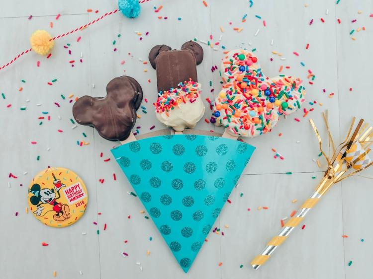 Mickey Bar Cake Pop - Homemade Mickey shaped treat - Celebrating Mickey Movie Night - A Magical Kingdom called Home