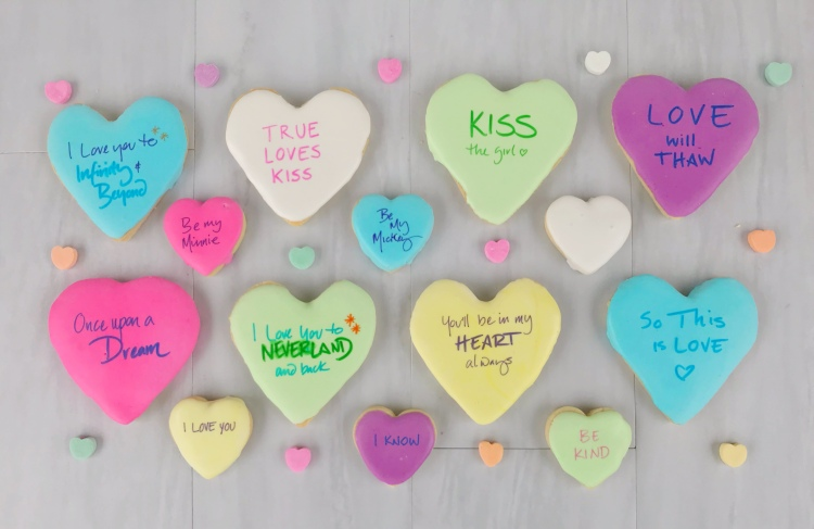 Disney Conversation Hearts - A Magical Kingdom called Home