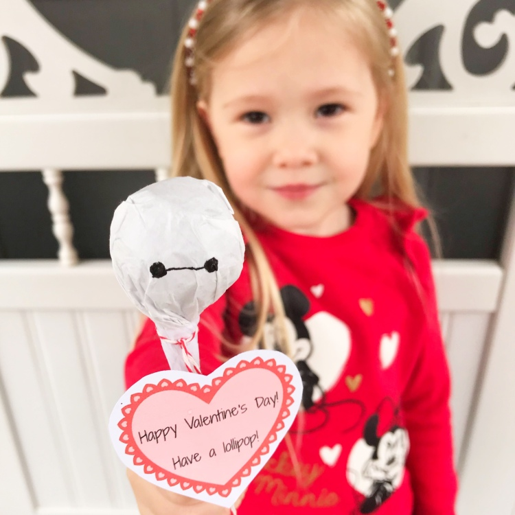 Baymax Valentine - Disney Valentine - A Magical Kingdom Called Home