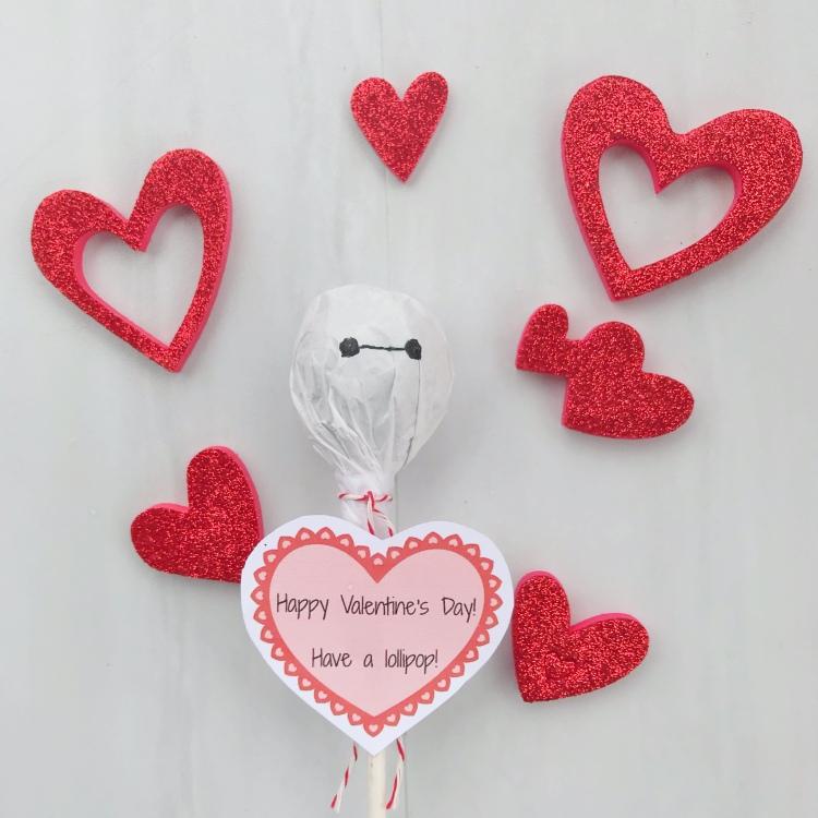 Baymax Valentine - Disney Valentine - A Magical Kingdom Called Home