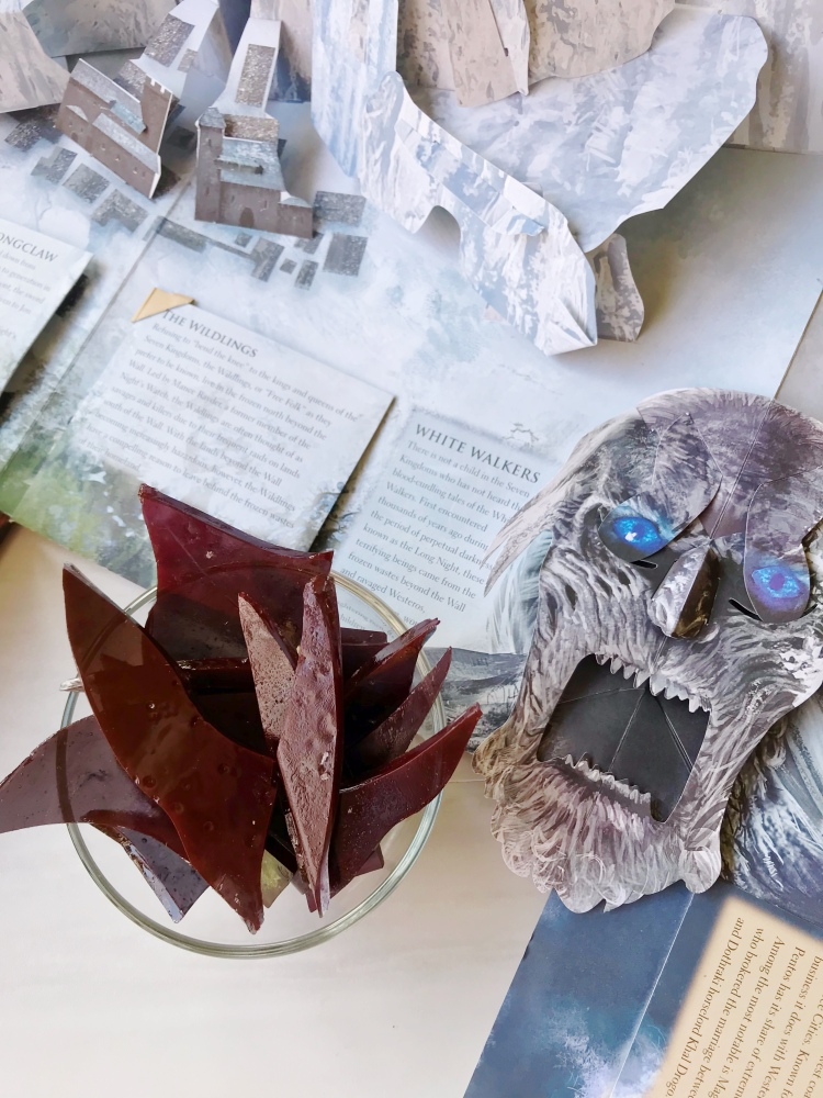 Game of Thrones Dragon Glass Recipe - A Magical Kingdom called Home