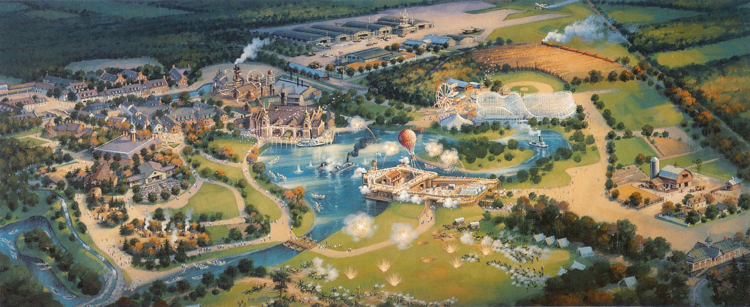 Disney's America Over View