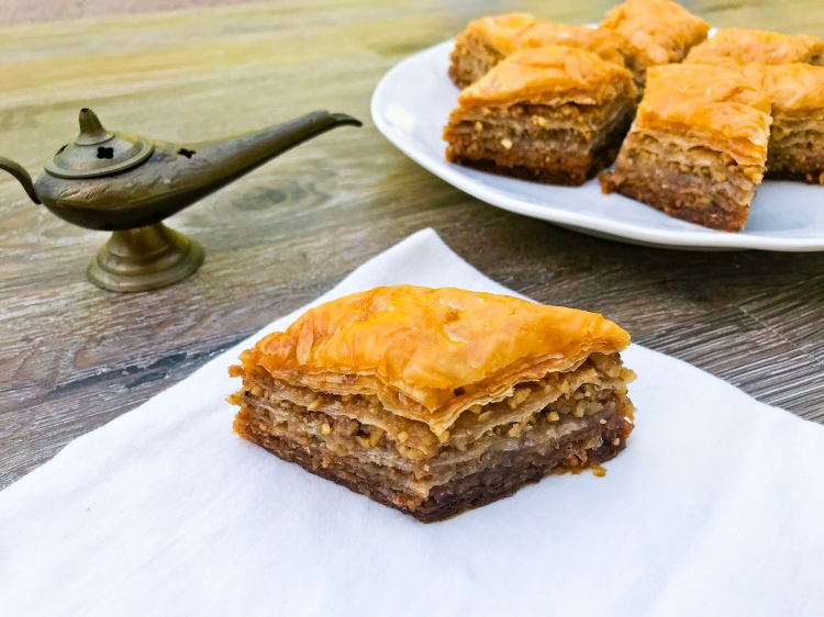 Genie's Baklava - A Magical Kingdom called Home - Disney Movie Night