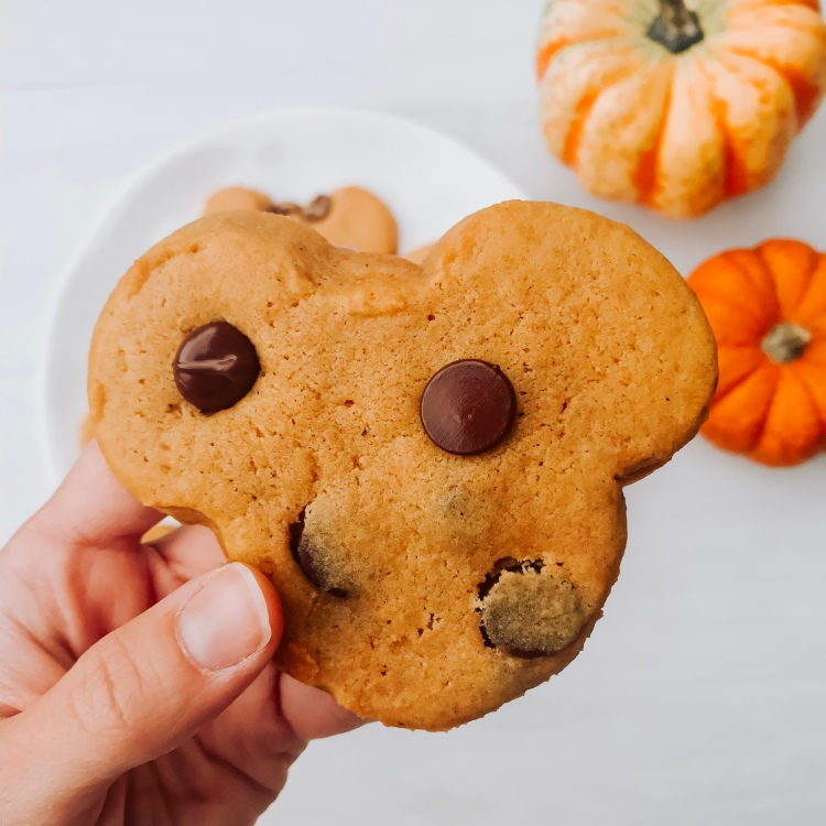 Pumpkin Chocolate Chip Cookies - A Magical Kingdom called Home