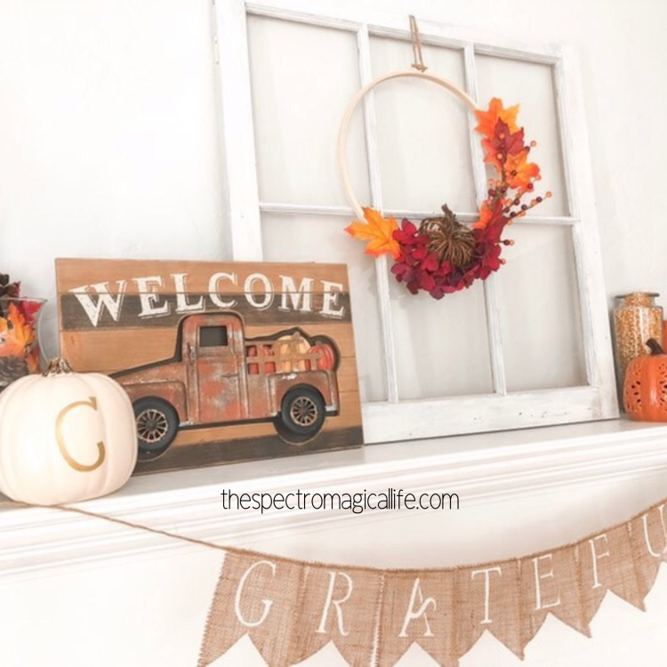 DIY FALL WREATH - The Spectromagical Life collab