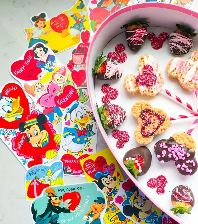Disney Valentines Day Sweets - A Magical Kingdom called Home